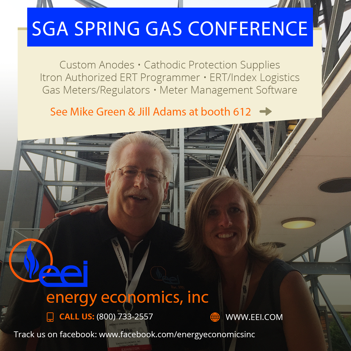 SGA Spring Gas Conference & Expo  Energy Economics, Inc.
