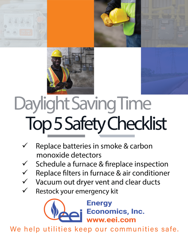 Daylight Savings Time Safety Checklist